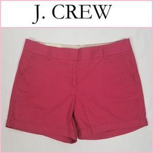 "NWT J. Crew Chino City Fit 5"" Shorts"